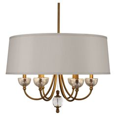 Robert Abbey Lighting 3367 Gossamer Chandelier in Weathered Brass Finish with Distressed Mercury Glass and Lead Crystal Accents Brass Chandelier, Chandelier Shades, Chandelier Lighting, Vanity Lighting, Ceiling Light Fixtures, Ceiling Lights, Robert Abbey Lighting, Mercury Glass, Gold Foil