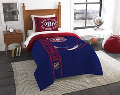 Super cozy and soft, this OFFICIAL NFL Twin Embroidered Comforter Set by The Northwest Company will make you never want to get out of bed! The large embroidered team logos stand out from the solid background on this bold bedding fit for a true fan.