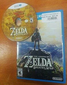 The Legend of Zelda: Breath of the Wild (Wii U, for sale online Nintendo Wii U Games, Zelda Breath, Breath Of The Wild, Best Graphics, Legend Of Zelda, Videos, Breathe, Video Game, Ebay