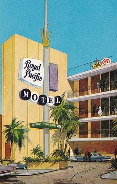Royal Pacific Motel San Francisco by hmdavid, via Flickr  Still open! (I have stayed there)