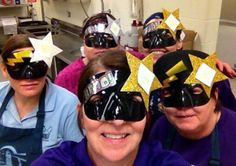 Kitchen selfies for School Lunch Hero Day! School Cafe, School Lunch, Library Programs, Lady And Gentlemen, Ladies Day, Second Grade, Nutrition, Hollywood, Superhero