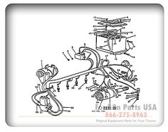 58 best ford tractor images ford tractors tractor sales tractors 53 Ford Golden Jubilee Parts ford 8n 11j01 electrical wiring