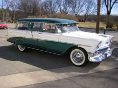 1956 Chevy Maintenance of old vehicles: the material for new cogs/casters/gears could be cast polyamide which I (Cast polyamide) can produce Vintage Cars, Antique Cars, Volkswagen, Toyota, Old Fashioned Cars, Station Wagon Cars, 1955 Chevy Bel Air, Automobile, Chevy Nomad