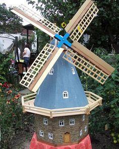 Galerijwindmolen Voor De Tuin Bouwinstructies Bouwhandleiding Voor Doe Het Zelvers Windmuhle Tuin Windmolens Japanse Tuin