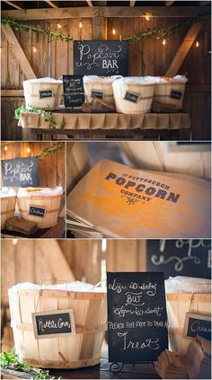 Pittsburgh popcorn bar at wedding Pittsburgh Bride Bridal Portraits Family Far. Pittsburgh popcorn bar at wedding Pittsburgh Bride Bridal Portraits Family Farm Wedding Barn Wedding Washington Pa Rusti. Farm Wedding, Diy Wedding, Rustic Wedding, Wedding Ideas, 1920s Wedding, Wedding Pictures, Wedding Details, Wedding Rehearsal, Wedding Reception