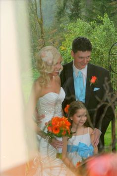 Adytum's first wedding in September 2010, the Wards.
