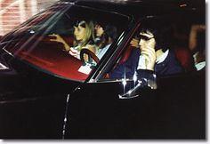 Elvis, Ginger and Lisa Marie August 12, 1977 #Elvis