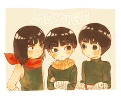 Might Gai, Metal Lee, and Rock Lee