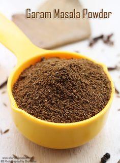 Punjabi Garam Masala Recipe How to make garam masala powder Sharmis Passions Punjabi Garam Masala Recipe, Garam Masala Powder Recipe, Gram Masala Recipe, Masala Chai, Masala Spice, Bhatura Recipe, Idli Recipe, Prawn Dishes, Curry Dishes