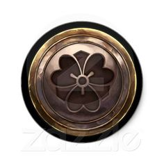Shop Japanese Emblem (Kamon) Classic Round Sticker created by FeytouchedStudios. Japanese Embroidery, Embroidery Kits, Embroidery Scissors, Japanese Family Crest, Japanese Logo, Carving Board, Wax Seal Stamp, Decorated Water Bottles, Round Stickers