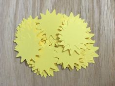 sun, sun cutouts, fun in the sun, beautiful, party decoration, sun garland,garland, confetti, sun mobile, sun die cut, birthday, beach theme