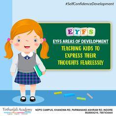 Kindergarten Teachers, Teaching Kids, Eyfs Curriculum, Nursery School, Indore, Self Confidence, Pre School, Confident, Ideas