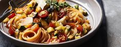 One-pan ratatouille pasta