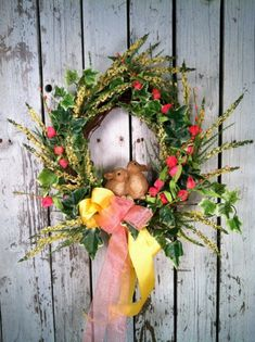 Top 12 Easter Wreath Designs From Nature – Cheap Easy Interior Party Decor Project - Way To Be Happy (7)