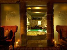 With pool, spa pool, steam room, sauna & jacuzzi & relaxation lounges The Devonshire Spa, Bolton Abbey is a perfect adults only escape to unwind. #thedevonshirespas #thedevonshirefell #devonshirehotels #boltonabbey #spa #burnsall