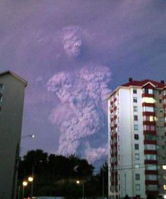 Sign from the Heavens? Hiker Photographs Giant Cloud God After Chilean Volcano