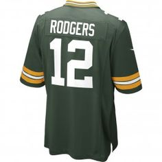 2ac4a3a07c7 Aaron Rodgers Green Bay Packers Nike Game Jersey (Green) Green Bay Packers  Gifts