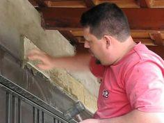 Como Assentar Pedra na parede - Como Construir sua Casa