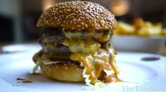 The Admiral Codrington, Chelsea. MIND BLOWING burgers by Fred Smith.