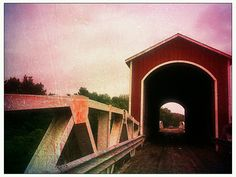 Wolf Covered Bridge Knoxville IL