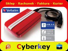 Dysk Verbatim HDD 500GB 2,5' USB 3.0 GT SUPERSPEED