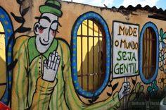 Por Plic! (Gabriel Marques) DF Através de intervenções urbanas, projeto propõe roteiro inspirado no Profeta Gentileza