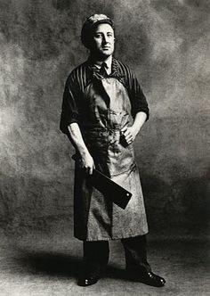Butcher by Irving Penn