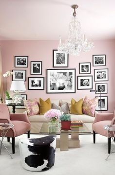 Move over grey, there's a new shade in town and it's appearing on the walls of the most stylish homes as interior designers everywhere fall for its feminine charms...