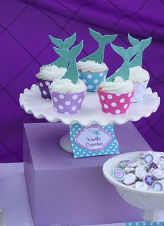 Little Mermaid Birthday Party Ideas | Photo 11 of 39 | Catch My Party