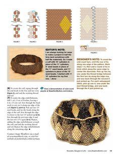 Схемы: Bead&Button - Bracelet Bangles 2