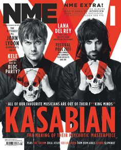 NME cover with Kasabian Rock Music, My Music, I Fall In Love, My Love, All Black Looks, Music Magazines, Cool Bands, Soundtrack, Music Artists