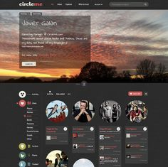 A CircleMe user profile