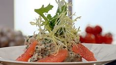 #Recept: Artisjokbodem met krab en grapefruits http://ift.tt/2g9fvSk #Voorgerechten