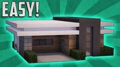Minecraft: How To Build A Small Modern House Tutorial (#13) - Minecraft Servers View