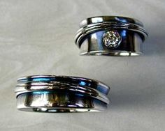 Celtic & Viking Jewelry - Custom Made - Handcrafted just for you. Unusual Wedding Rings, Unusual Engagement Rings, Celtic Wedding Rings, Engagement Ring Settings, Celtic Rings, Unique Rings, Wedding Band Sets, Wedding Knot, Irish Wedding