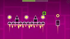 Geometry Dash Gameplay  All Levels 1 - 21