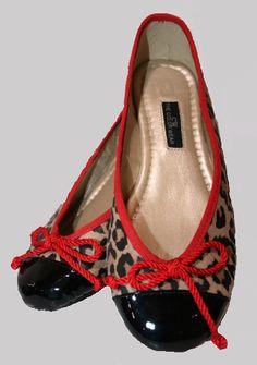 Zapatos Bailarina Animal