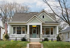 traditional exterior by Carl Mattison Design - Willow Tree and Hazel