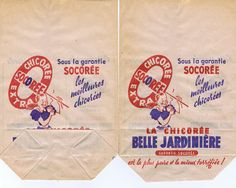 Coffee.Paris.French.Packaging.Cello by studioflowerpower on Etsy, $7.00