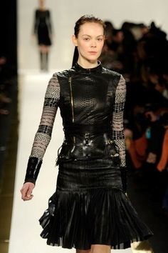 this top is incredible, Herve Leger fall 2012