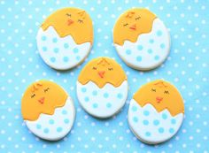 Cute Chick Cookies from Munchkin Munchies
