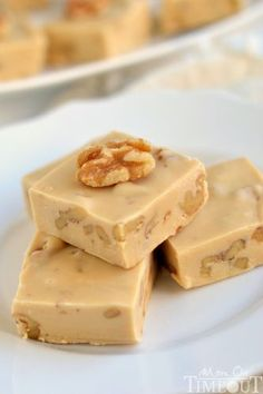 Recette de fudge aux noix et à l'érable (Facile et rapide)