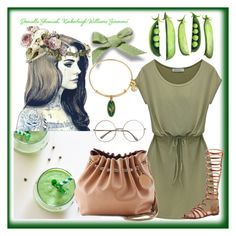 """""""who loves green?"""" by ainzme ❤ liked on Polyvore"""