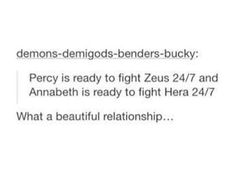 Um people I think there both ready to fight Hera and Zeus 24/7