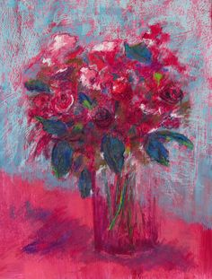 untitled pastel painting by Karin Goeppert 56 x 42 cm