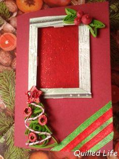 Quilled Life: Za oknem... #quilling #diy #handmade #handcraft #christmas #christmascard #paperart