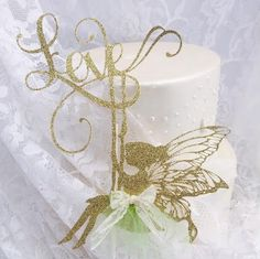 Fairy Cake Topper - Fairy Decorations - Swinging - Childhood Memories - Birthday Party - Baby Shower - Decorations - Customized - Love
