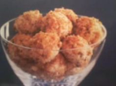 Mini Bacon and Herb Cheese balls