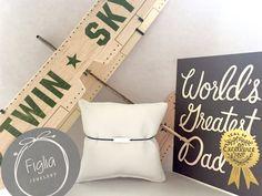 FIGLIA jewelery for DADDYS DAY Jewelery, Daddy, Gift Wrapping, Inspiration, Gifts, Schmuck, Jewelry, Gift Wrapping Paper, Biblical Inspiration