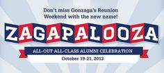 Zagapalooza, poised to be the greatest reunion weekend in 125 years!